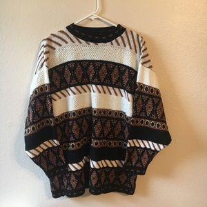 Vintage winter neutral sweater